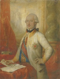 portrait von ferdinand iv by francesco corneliano