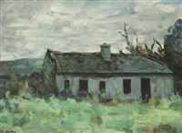 abandoned cottage by james le jeune