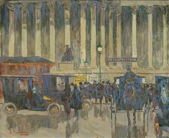Place De La Bourse Paris By Oswaldo Pinheiro On Artnet