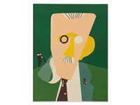 james joyce by eduardo arroyo
