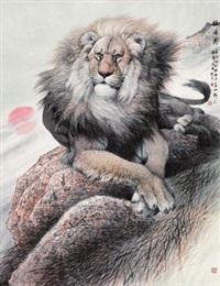 壮怀图 (lion) by ji zefu