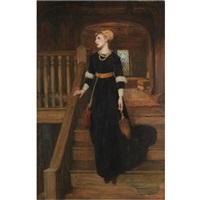 amy robsart by sir william quiller orchardson