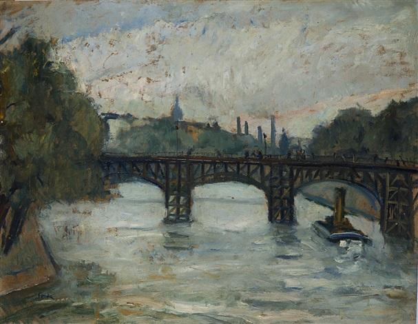 il ponte di ferro sulla senna parigi by enrico fonda