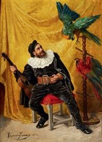 le perroquet capricieux by casimir lemaire