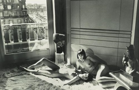 mannequins quai dorsay from private property suite iii by helmut newton