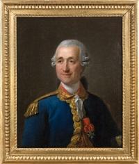portrait présumé de monsieur de wolter de neubourg by jean-martial fredou
