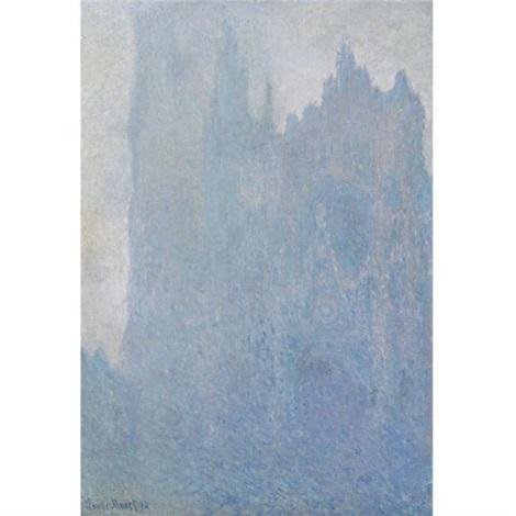la cathédrale dans le brouillard by claude monet