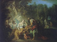 iphigénie avant le sacrifice by louis galloche