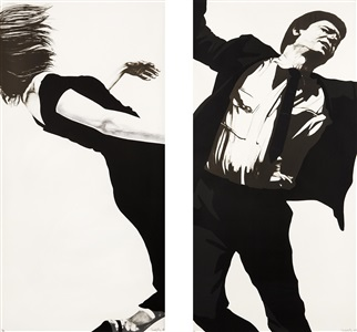 artwork by robert longo