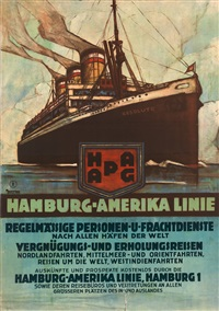 hamburg-amerika linie, resolute by ottomar anton