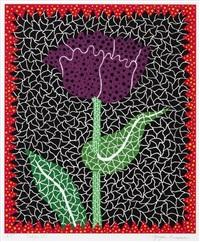 tulipe (i) by yayoi kusama