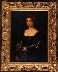 portrait of a lady by agnolo bronzino