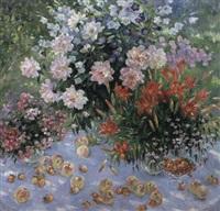 la nature morte avec les bouquets by olga smirnova