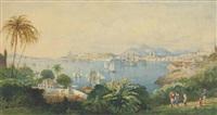rio de janeiro from the ilha das cobras by edward duncan