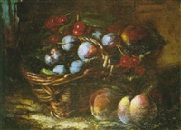 le panier de fruits by alphonse alexis morlot