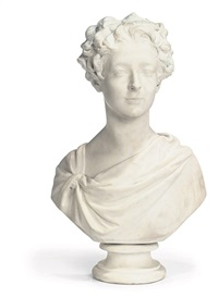 bust of a young gentleman by william behnes