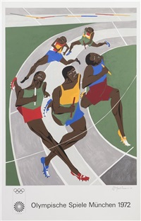 olympics by jacob lawrence