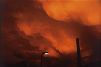 the sky on the day of philippine's death, winterthur, 1997 by nan goldin