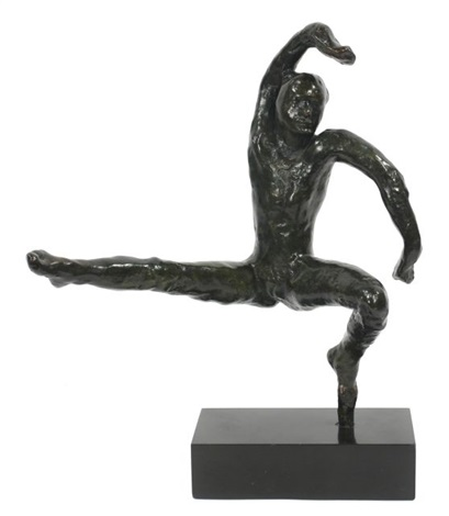 mouvement de danse f by auguste rodin