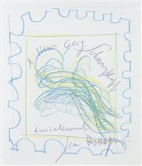 projet de timbre by jean messagier
