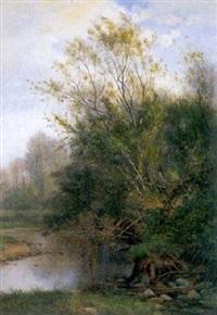 bord du renaison à riorges (loire) by louis noirot