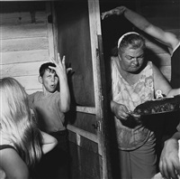 pat sabatine's eighth birthday party by larry fink