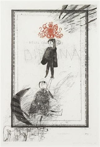 royal college of art diploma by david hockney