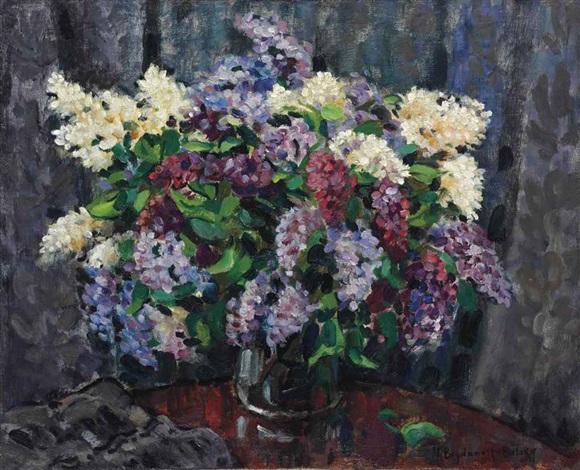 lilacs by nikolai petrovich bogdanov belsky