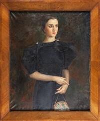 portret stefanii szczerskiej by jan kober