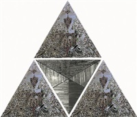 four triangles in one by monir shahroudy farmanfarmaian