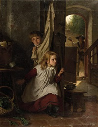 playing hide-and-seek by berthold woltze