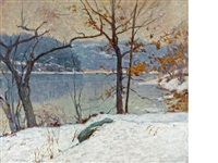 the first snow by william chadwick