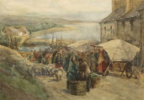 market day roundstone by kate dobbin