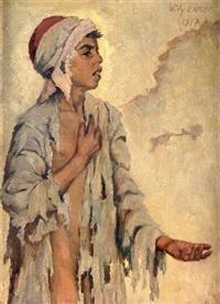 orientalischer betteljunge by willy exner