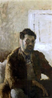self portrait by claude rogers