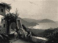 figuren vor italienischer kuste by julius edward w. helfft