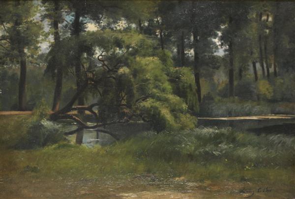 sous bois by louis alexandre cabié