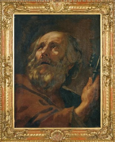 saint peter by simon vouet