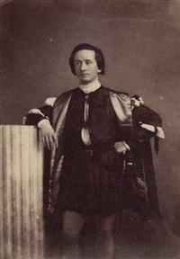 portrait de l'acteur louis-arsène delaunay (les caprices de marianne) by julien vallou de villeneuve