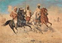 trois cavaliers by giuseppe gabani