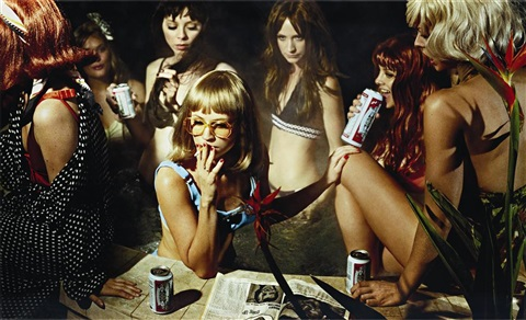 susie and friends from the big valley by alex prager