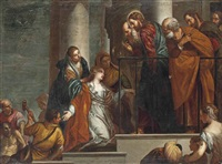 christ raising the son of the widow of nain by paolo veronese