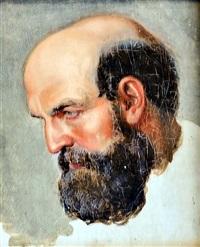 man's portrait by jaroslav cermak