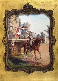 le départ en campagne by paul léon jazet