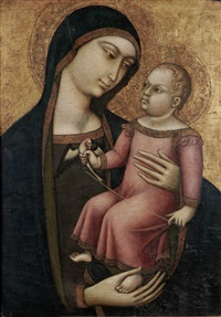 the madonna and child by luca di tomme