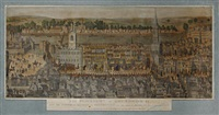 the procession of king edward vi from the tower of london to westminster, february 1547, previous to his coronation (after s.h. grimm) by james basire the elder