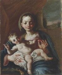 madonna col bambino by giuseppe (tomasuoli) tomajuoli