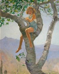 the walnut tree by john lavery