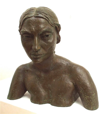 sunita 2nd portrait by sir jacob epstein