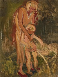 mother and child by william dobell